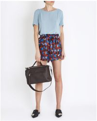 Jucca - Printed Shorts In Multicolour - Lyst