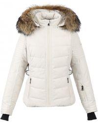 Oakwood - Competition Beige Ski Jacket - Lyst