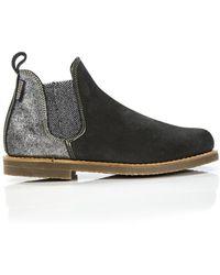Penelope Chilvers - Women's Safari Patchwork Short Chelsea Boots - Lyst