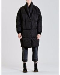 Native Youth - Black Altair Puffer Jacket - Lyst