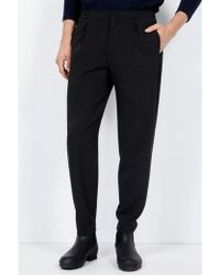 American Vintage - Cambridge Anthracite Trousers - Lyst