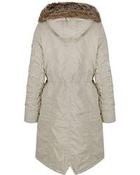 Creenstone - Women's Long Length Parka Jacket - Lyst