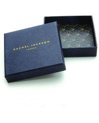 Rachel Jackson - Triple Hexagon Necklace Silver - Lyst