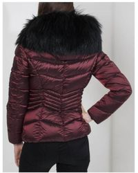 FROCCELLA - B220s Quilted Short With Black Fur - Lyst