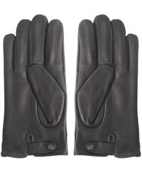 Ted Baker - Men's Roots Full Leather Driving Gloves - Lyst