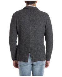 Lardini - Blazer In Grey - Lyst