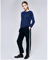 Bellerose - Vlad72 Pants With Mohair Trim - Lyst