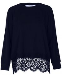 Dorothee Schumacher - Effortless Emotion Nave Lace Sweater 623604 - Lyst