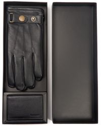 Barbour - Leather Gloves And Wallet Gift Box - Lyst