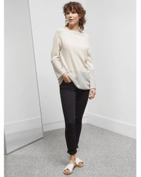 Great Plains - Marley Merino Knit In Cream & Concrete - Lyst