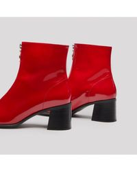 E8 By Miista - Saga Zip Leather Boots - Lyst