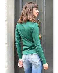 Nice Things - Rib Green Top - Lyst