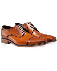 Loake - Leather Foley Derby Shoes - Lyst