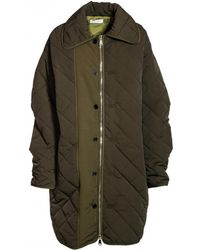 WEILI ZHENG - Down Jacket In Green - Lyst