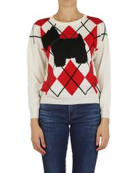 Boutique Moschino - Jumper In White - Lyst