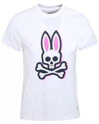 Psycho Bunny - Graphic Logo T-shirt - Lyst