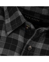 Filson - Lightweight Alaskan Guide Shirt Heather / Black - Lyst