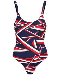 Tommy Hilfiger - Women's Iconic High Cut Swimsuit - Lyst