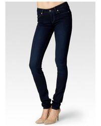 PAIGE - Leggy Ultra Skinny Transcend Jeans - Lyst
