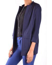 Pinko - Blazer In Blue - Lyst