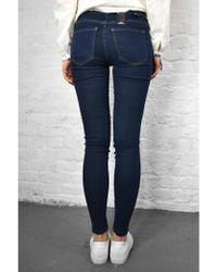 Dr. Denim - Plenty Dark Stone Jeans - Lyst