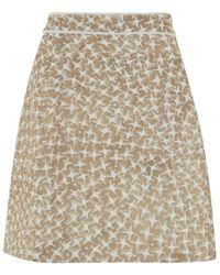 Atterley - Vangad Mini Skirt - Lyst