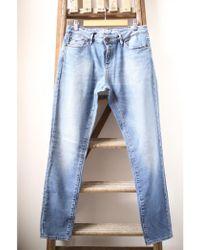 Denham - Point Blue Girlfriend Jeans - Lyst