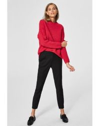 SELECTED - Regina Ls Knit O-neck - Lyst