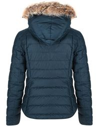 Belstaff - Women's Avedon Down Jacket With Removable Fur Trim Hood - Lyst