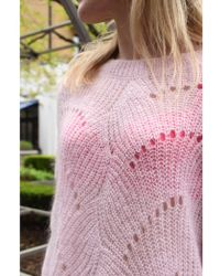 Second Female - Jade Cradle Pink O-neck Sweater - Lyst