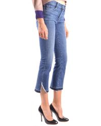 J Brand - Cropped Jeans In Blue - Lyst