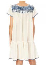 Star Mela - Women's Isla Embroidered Dress - Lyst