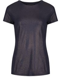Ted Baker - Women's Fit To A T Yoogal Metallic Fitted T-shirt - Lyst