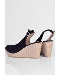 Toni Pons - Suede Slingback In Black - Lyst