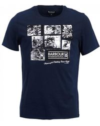 Barbour - International System Tee - Lyst