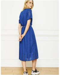 Mkt Studio - Runlin Blue Dress - Lyst