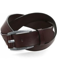 BOSS Orange - Bakaba Leather Belt - Lyst