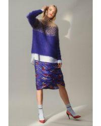 Custommade• - Rabea Royal Blue Skirt - Lyst