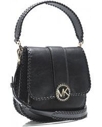 MICHAEL Michael Kors - Lillie Medium Leather Shoulder Bag - Lyst