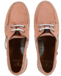 Barbour - Women's Bowline Boat Shoes - Lyst