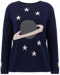 Cocoa Cashmere - Heavens Above Planets Cashmere Sweater - Lyst