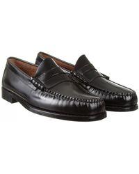 292986b65bb Lyst - G.H.BASS Leonard Weejuns in Black for Men