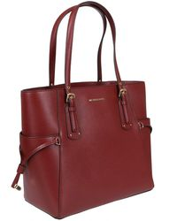 MICHAEL Michael Kors - Red Leather Bag - Lyst