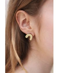 Wolf & Moon - Miro Earrings - Lyst