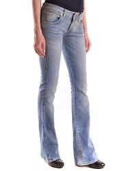 e61130cdc3f Isabel Marant Roger High-rise Straight-leg Jeans in Gray - Lyst
