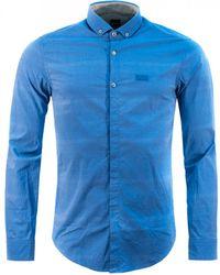 BOSS Green - Burris Slim Fit Shirt - Lyst