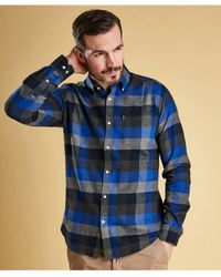 Barbour - Tailored Fit Stapleton Angus Check Shirt - Lyst