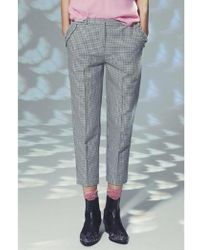 Custommade• - Lilli Dusty Blue Trousers - Lyst