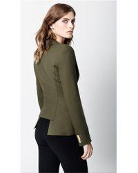 Smythe - Duchess Blazer Army Green - Lyst