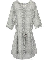 Pyrus - Malta Silk Dress Grey - Lyst